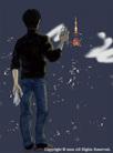 映画『tokyo tower』イラスト制作